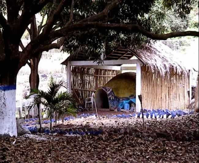 Baño de Temascal En El Campamento Rio Actopan Veracruz