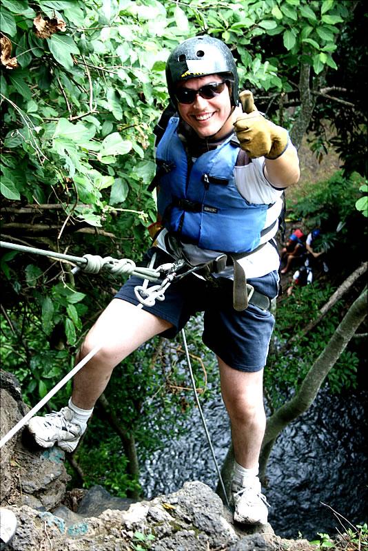 Rappel En El Rio Actopan Chicuasen Veracruz